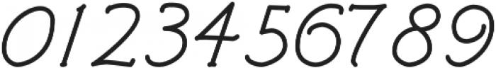 Architects and Draftsmen Regular Italic otf (400) Font OTHER CHARS