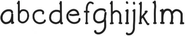 Architects and Draftsmen otf (400) Font LOWERCASE