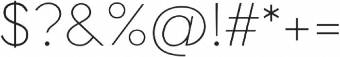 Archiv Grotesk Light otf (300) Font OTHER CHARS