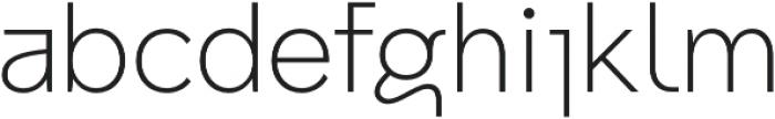 Archiv Grotesk Normal otf (400) Font LOWERCASE