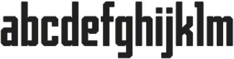 Archiva Bold Rounded Regular otf (700) Font LOWERCASE