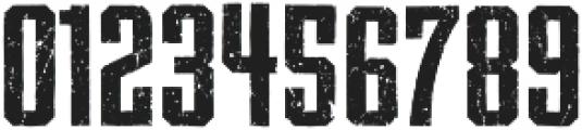 Archiva Bold Worn Bold otf (700) Font OTHER CHARS