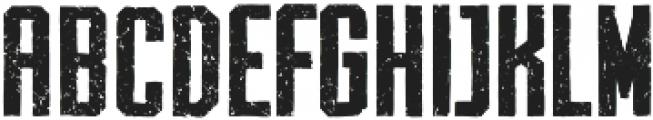 Archiva Bold Worn Bold otf (700) Font UPPERCASE
