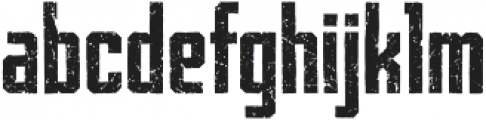 Archiva Bold Worn Bold otf (700) Font LOWERCASE