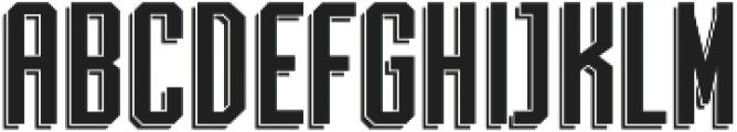 Archiva Dropline Regular otf (400) Font UPPERCASE