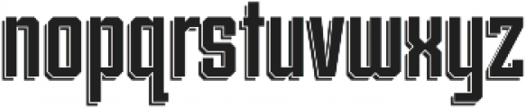 Archiva Dropline Regular otf (400) Font LOWERCASE