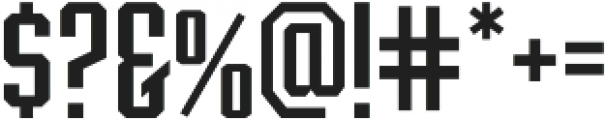 Archiva Regular otf (400) Font OTHER CHARS