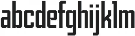 Archiva Regular otf (400) Font LOWERCASE