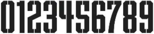 Archiva Stencil Bold otf (700) Font OTHER CHARS