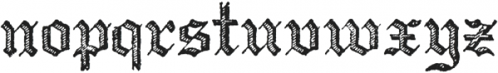 Archive Copperplate Text Regular otf (400) Font LOWERCASE