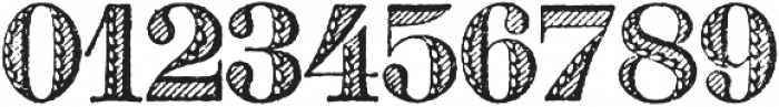 Archive French Shaded Regular otf (400) Font OTHER CHARS