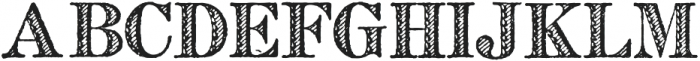 Archive French Shaded Regular otf (400) Font LOWERCASE