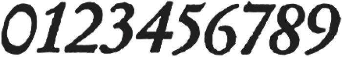 Archive Garamond Pro Bold Italic otf (700) Font OTHER CHARS