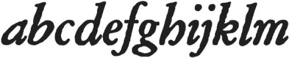 Archive Garamond Pro Bold Italic otf (700) Font LOWERCASE