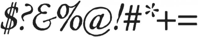 Archive Garamond Pro Italic otf (400) Font OTHER CHARS