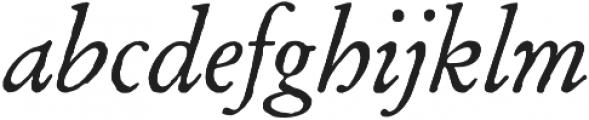 Archive Garamond Pro Italic otf (400) Font LOWERCASE