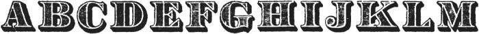 Archive Garfield Regular otf (400) Font UPPERCASE