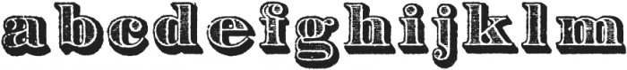 Archive Garfield Regular otf (400) Font LOWERCASE