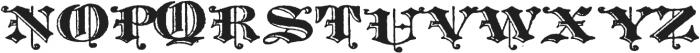 Archive Harlem Title Regular otf (400) Font UPPERCASE