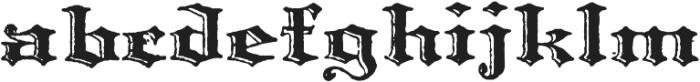 Archive Harlem Title Regular otf (400) Font LOWERCASE