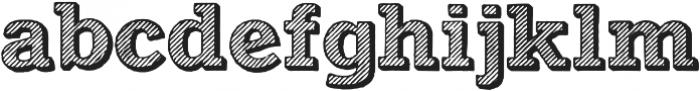 Archive Kludsky otf (400) Font LOWERCASE