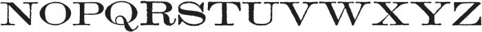 Archive Lightface Extended Regular otf (300) Font UPPERCASE