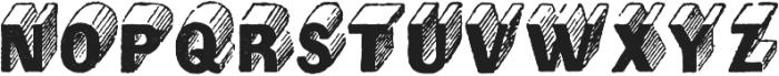 Archive Mann Regular otf (400) Font UPPERCASE
