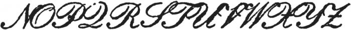 Archive Petite Script Regular otf (400) Font UPPERCASE