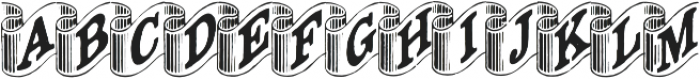 Archive Ribbon Regular otf (400) Font UPPERCASE