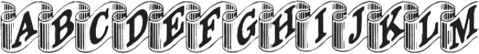 Archive Ribbon Regular otf (400) Font LOWERCASE