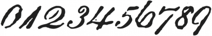 Archive Roundhand Script Regular otf (400) Font OTHER CHARS