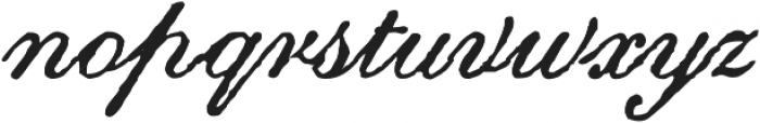 Archive Roundhand Script Regular otf (400) Font LOWERCASE
