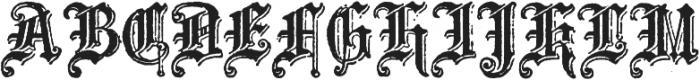 Archive School Text Regular otf (400) Font UPPERCASE