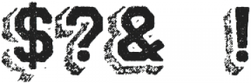 Archive Steeler Regular otf (400) Font OTHER CHARS