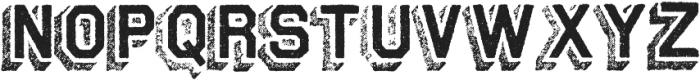 Archive Steeler Regular otf (400) Font UPPERCASE
