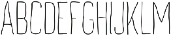 Archive's Light ttf (300) Font LOWERCASE
