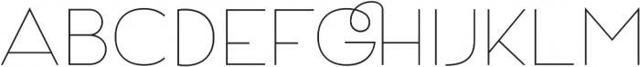 Archivio 200 otf (200) Font UPPERCASE