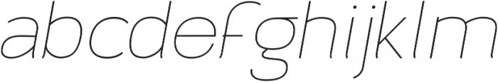 Archivio Italic 200 otf (200) Font LOWERCASE