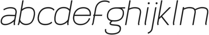 Archivio Italic 500 otf (500) Font LOWERCASE