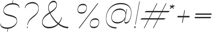Archivio Italic Inverted 400 otf (400) Font OTHER CHARS