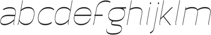 Archivio Italic Inverted 400 otf (400) Font LOWERCASE