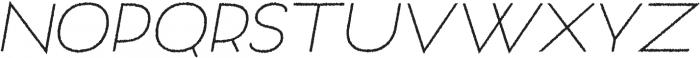 Archivio Italic Rough 400 otf (400) Font UPPERCASE