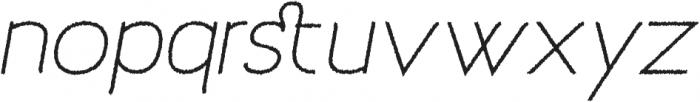Archivio Italic Rough 400 otf (400) Font LOWERCASE