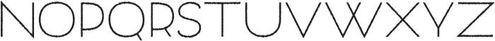 Archivio Rough 400 otf (400) Font UPPERCASE
