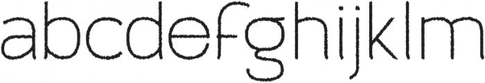 Archivio Rough 400 otf (400) Font LOWERCASE