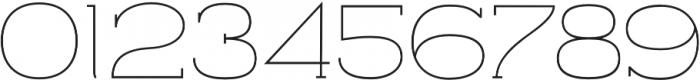 Archivio Slab 200 otf (200) Font OTHER CHARS