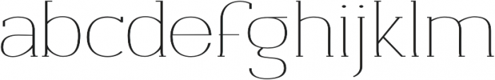 Archivio Slab Contrasted 400 otf (400) Font LOWERCASE