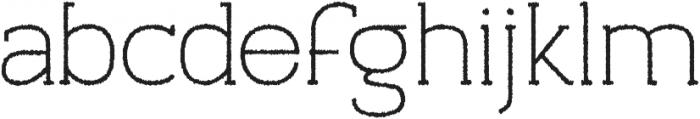 Archivio Slab Rough 400 otf (400) Font LOWERCASE