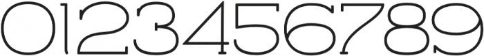 Archivio Slab Rounded 400 otf (400) Font OTHER CHARS