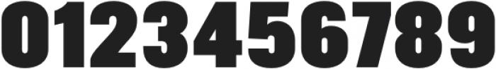 Arda ExtraBlack Condensed otf (900) Font OTHER CHARS